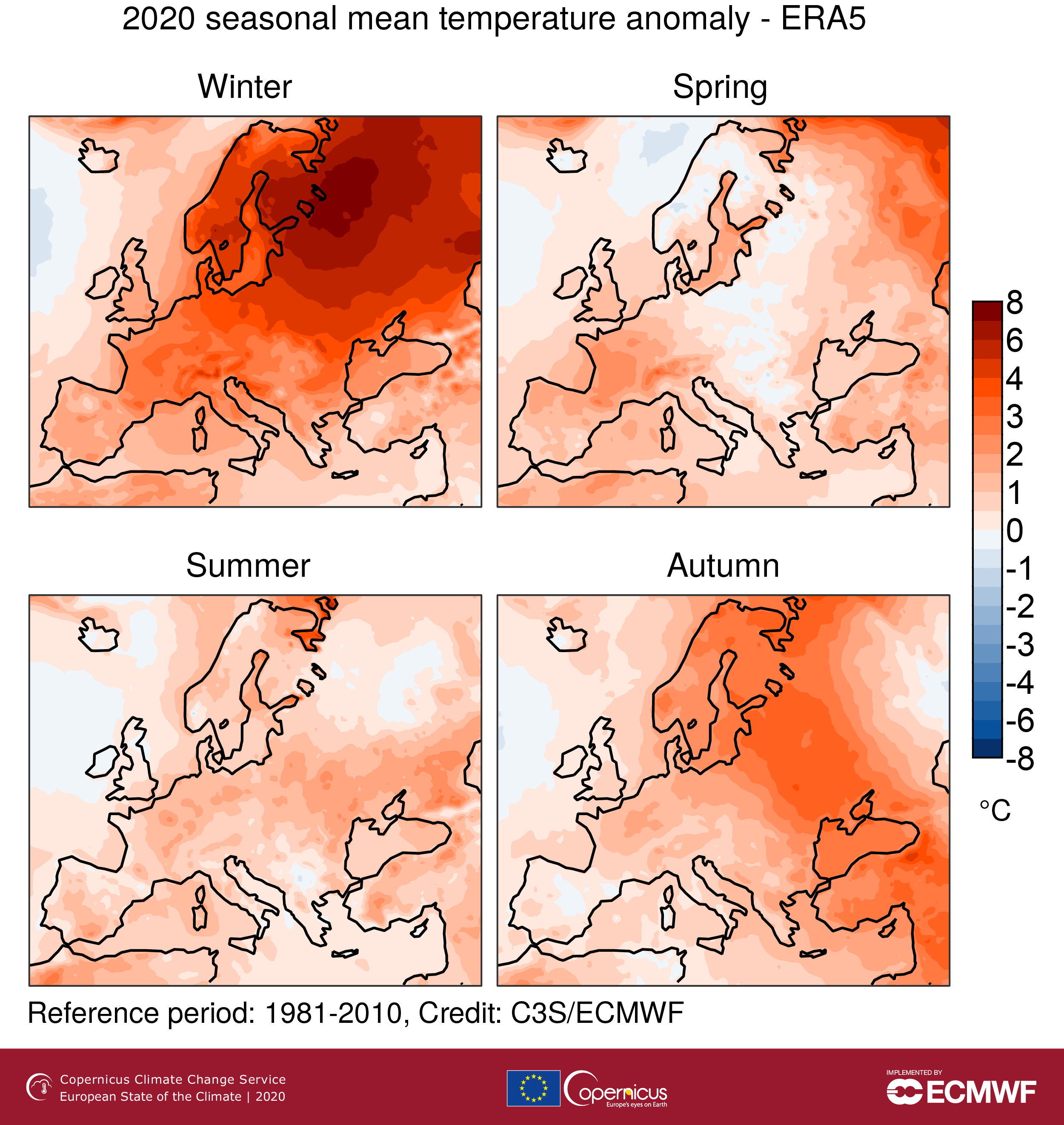 OBSERVER: Latest European State of the Climate reports record-high temperatures in 2020