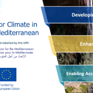 Clima-Med – Acting for climate in South Mediterranean