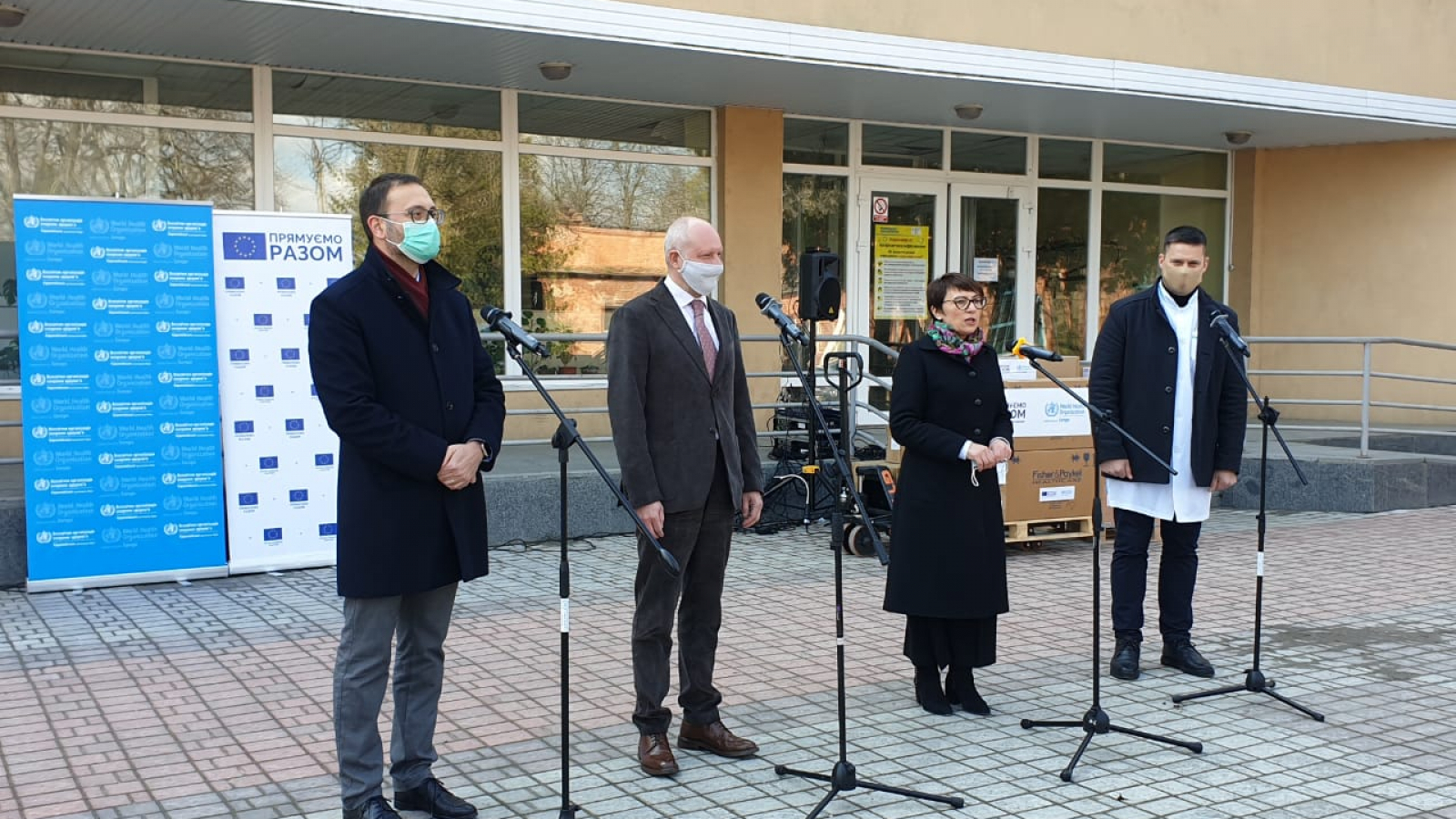 Head of EU Delegation to Ukraine visits Uman