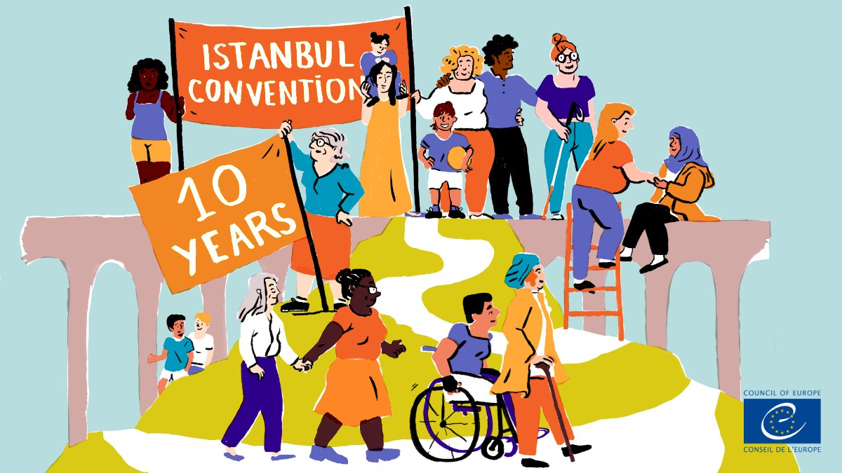 🙁#ViolenceAgainstWomen and girls has increased to alarming new levels. Notably, due to #coronavirus pandemic. Now, more than ever, we need strong commitments + actions to defend the rights of women + girls. Including @CoE_endVAW's #IstanbulConvention. https://t.co/W4sjsBYFAM