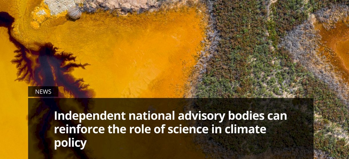 🆕Efforts in tackling #climatechange at national level across #Europe can be made more effective by robust governance frameworks as well as well-functioning, well-resourced advisory bodies according to our EEA briefing out today⏩https://t.co/hfsglzLn6P https://t.co/OZ7HQSKgyH