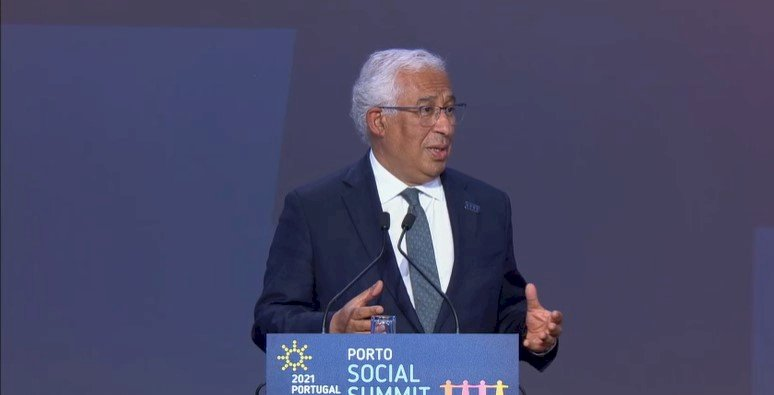 For the first time, we have achieved a joint undertaking. This is the broadest and the most ambitious undertaking perhaps ever and it marks the beginning of a new path that we will take together. - Portuguese Prime Minister @antoniocostapm, final speech of #EUSocialSummit21 https://t.co/SMuHWXWe9y