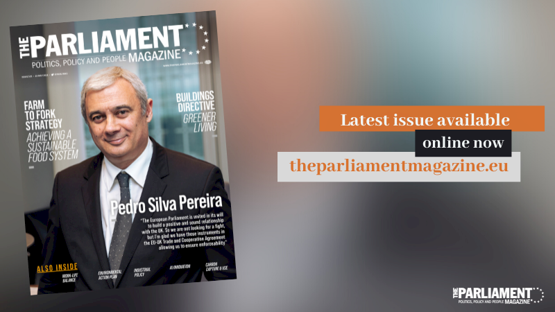 📢Our latest issue is out now, with one of EU's chief #Brexit coordinators, Portuguese deputy Pedro Silva Pereira, gracing our cover. Also inside: 🔴#EUFarm2Fork Strategy 🔴Buildings Directive #NewEuropeanBauhaus 🔴#AI Innovation Full magazine here 👉https://t.co/8VIY5eBbOE https://t.co/2xWoYgjNOU