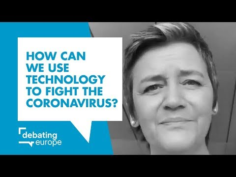 Margrethe Vestager - How can we use technology to fight the coronavirus?